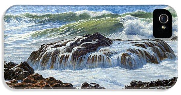 Devil's Churn Area-oregon Coast IPhone 5 Case by Paul Krapf