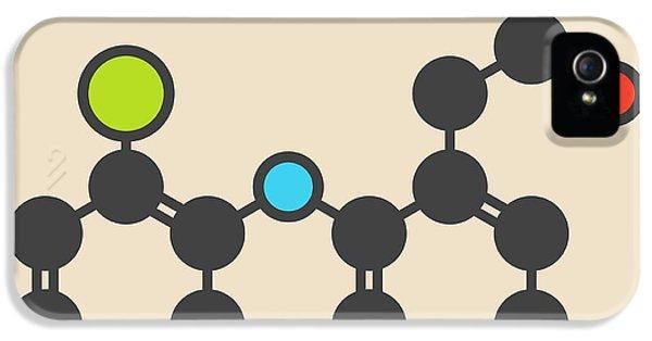 Diclofenac Inflammation Drug Molecule IPhone 5 Case by Molekuul