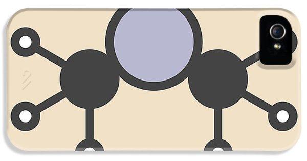 Dimethylmercury Molecule IPhone 5 Case by Molekuul