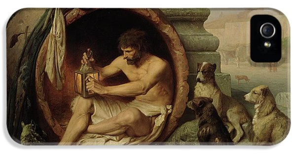 Diogenes IPhone 5 Case by Jean Leon Gerome