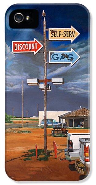 Discount Self-serv Gas IPhone 5 Case