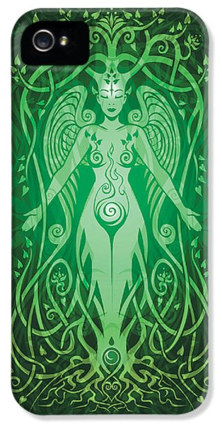 Divine Life V.2 IPhone 5 Case by Cristina McAllister