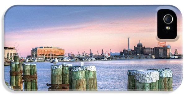 Dockside IPhone 5 Case by JC Findley