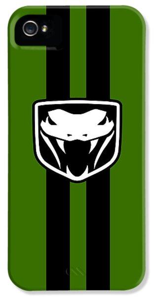 Viper iPhone 5 Case - Dodge Viper Phone Case by Mark Rogan