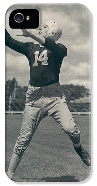 Don Hutson Poster IPhone 5 Case by Gianfranco Weiss