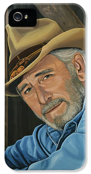 Don Williams Painting IPhone 5 Case by Paul Meijering