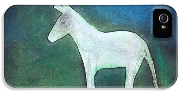 Donkey, 2011 Oil On Canvas IPhone 5 Case by Roya Salari