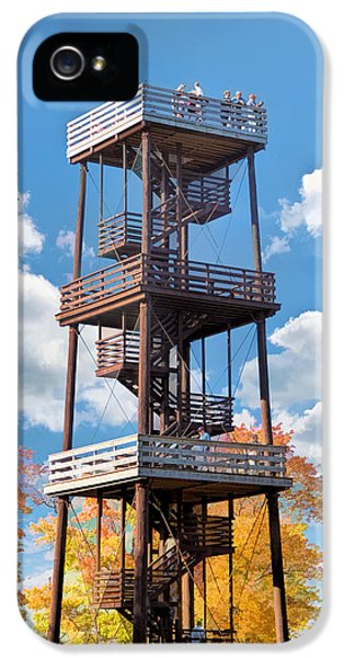 Door County Eagle Tower Peninsula State Park IPhone 5 Case by Christopher Arndt