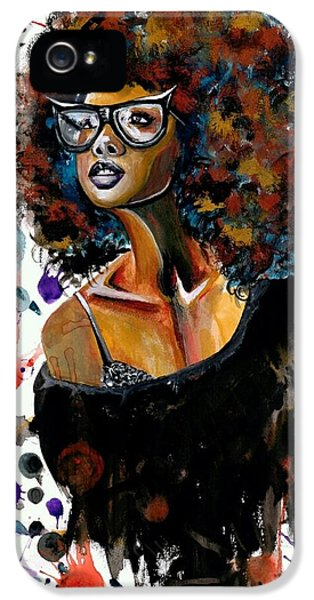 Beautiful iPhone 5 Case - Dope Chic by Artist RiA