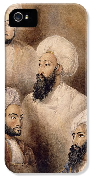 Dost Muhammad Khan & Family IPhone 5 Case by British Library