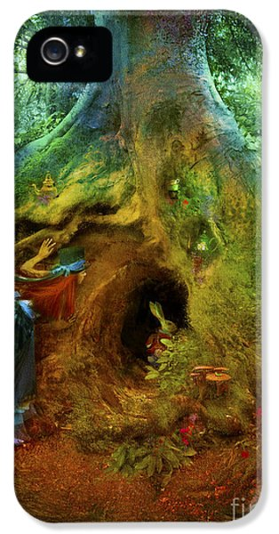 Down The Rabbit Hole IPhone 5 Case by Aimee Stewart