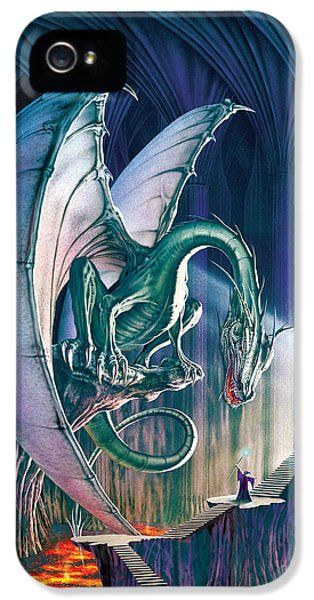 Dragon Lair With Stairs IPhone 5 / 5s Case by The Dragon Chronicles - Robin Ko