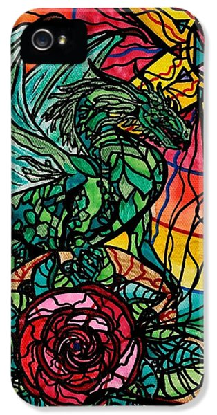 Dragon iPhone 5 Case - Dragon by Teal Eye  Print Store