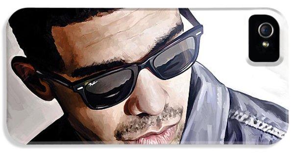 Drake Artwork 1 IPhone 5 Case