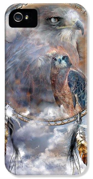 Dream Catcher - Hawk Spirit IPhone 5 Case