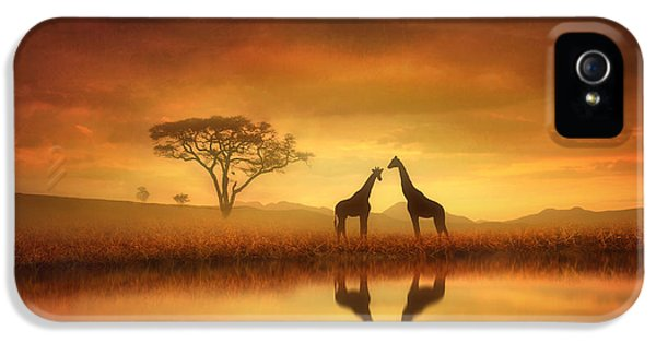 Dreaming Of Africa IPhone 5 / 5s Case by Jennifer Woodward