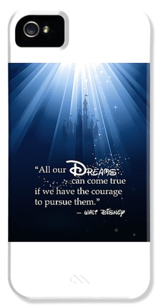 Mice iPhone 5 Case - Dreams Can Come True by Nancy Ingersoll