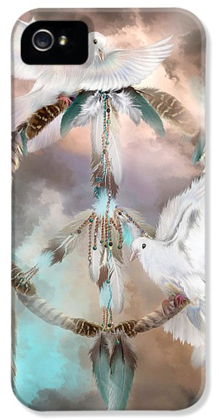 Dreams Of Peace IPhone 5 Case by Carol Cavalaris