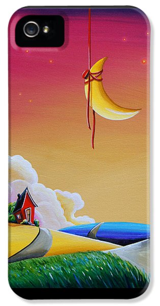 Illustrative iPhone 5 Case - Dreamville by Cindy Thornton