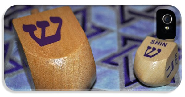 Dreidel Dreidel IPhone 5 Case by Tikvah's Hope