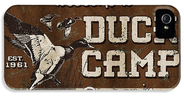 Duck Camp IPhone 5 Case by JQ Licensing