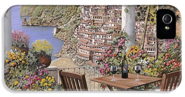 due bicchieri a Positano IPhone 5 Case by Guido Borelli