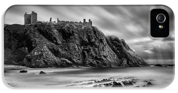 Dunnottar Castle 2 IPhone 5 Case by Dave Bowman