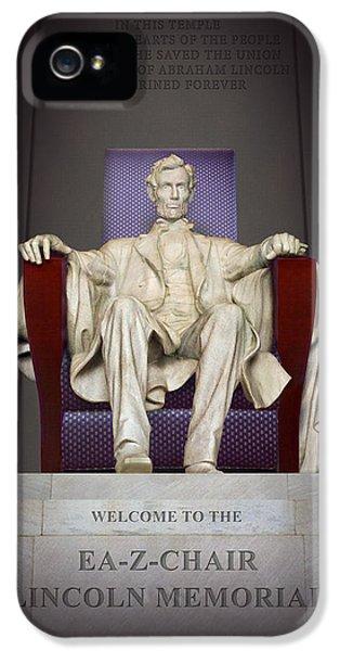 Ea-z-chair Lincoln Memorial 2 IPhone 5 Case