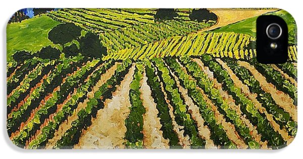 Early Crop IPhone 5 Case by Allan P Friedlander