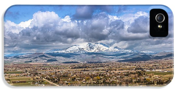 Early Spring In Emmett Valley IPhone 5 Case
