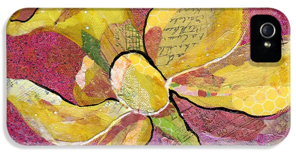 Orchid iPhone 5 Case - Early Spring Iv Daffodil Series by Shadia Derbyshire