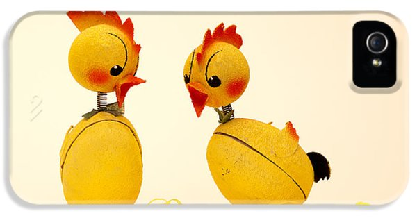 Easter Chickens IPhone 5 Case by Torbjorn Swenelius