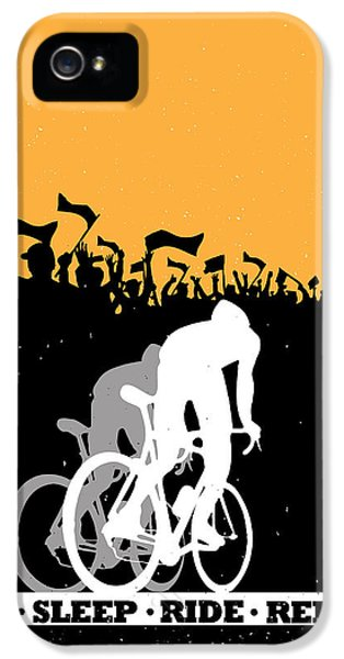 Repeat iPhone 5 Case - Eat Sleep Ride Repeat by Sassan Filsoof
