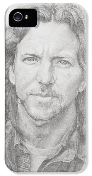 Eddie Vedder IPhone 5 / 5s Case by Olivia Schiermeyer