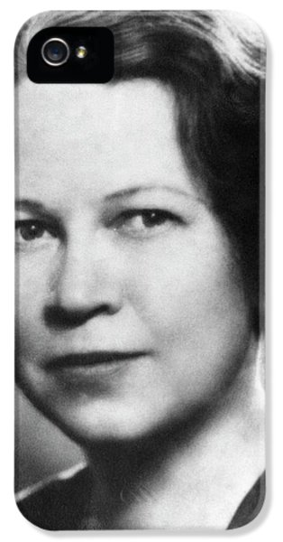 Edith Quimby IPhone 5 Case by Emilio Segre Visual Archives/american Institute Of Physics
