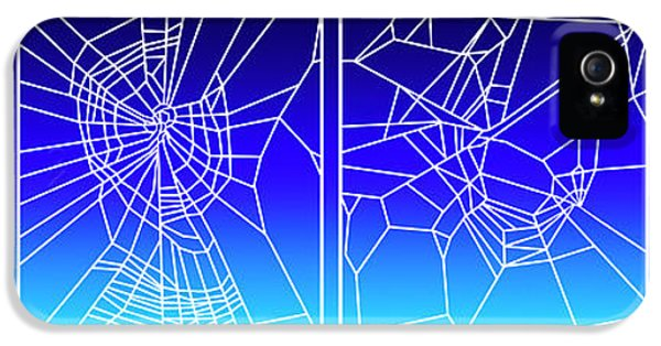 Toxicity iPhone 5 Case - Effect Of Drugs On Spiders by Nasa/science Photo Library