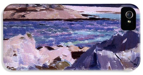Eilean Annraidh From The North End IPhone 5 Case by Francis Campbell Boileau Cadell