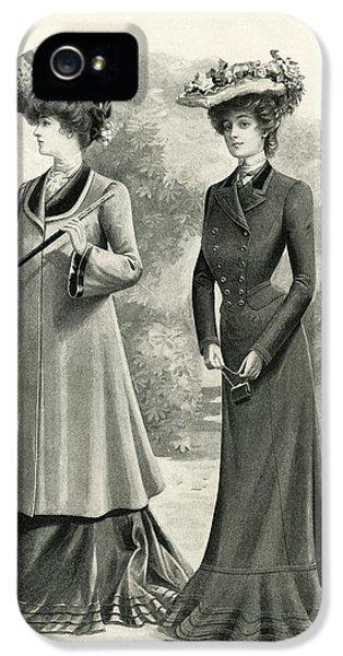 Elegant Women Of 1902 IPhone 5 Case