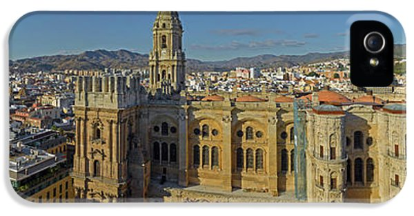 Elevated View Of Malaga Cathedral IPhone 5 Case