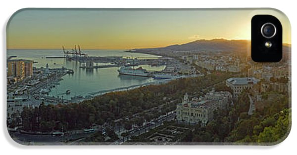 Elevated View Of Malaga City IPhone 5 Case