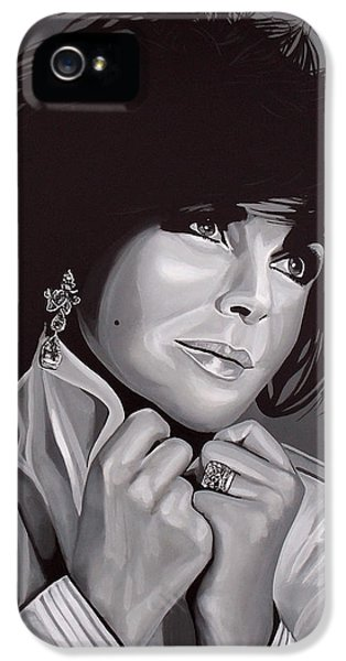 Elizabeth Taylor IPhone 5 / 5s Case by Paul Meijering