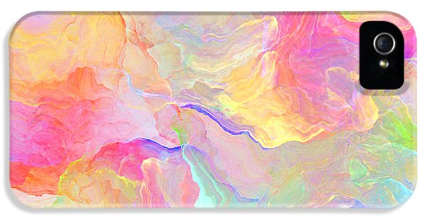 Eloquence - Abstract Art IPhone 5 Case by Jaison Cianelli