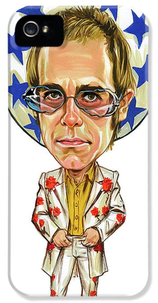 Elton John iPhone 5 Case - Elton John by Art