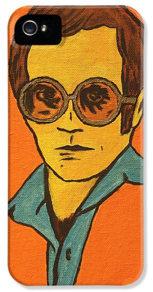 Elton John iPhone 5 Case - Elton John by John Hooser