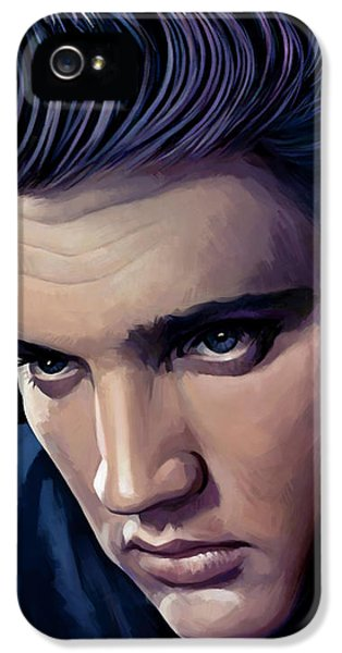 Elvis Presley Artwork 2 IPhone 5 Case