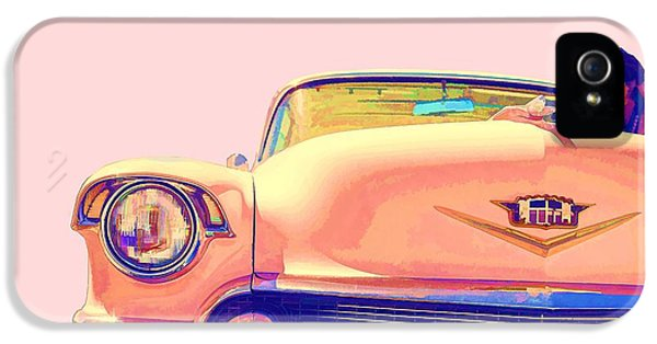 Etna iPhone 5 Case - Elvis Presley Pink Cadillac by Edward Fielding