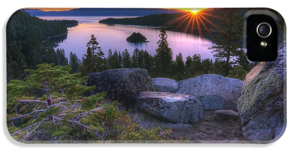 Emerald Bay IPhone 5 Case by Sean Foster