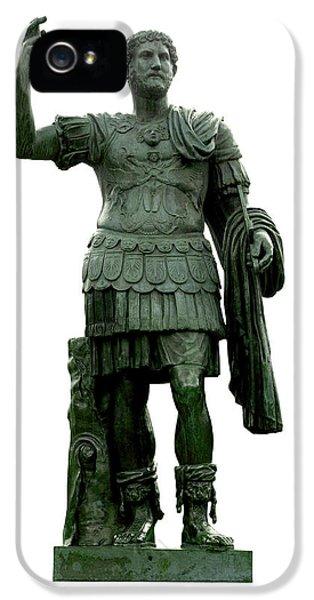 Emperor Hadrian IPhone 5 Case by Fabrizio Troiani