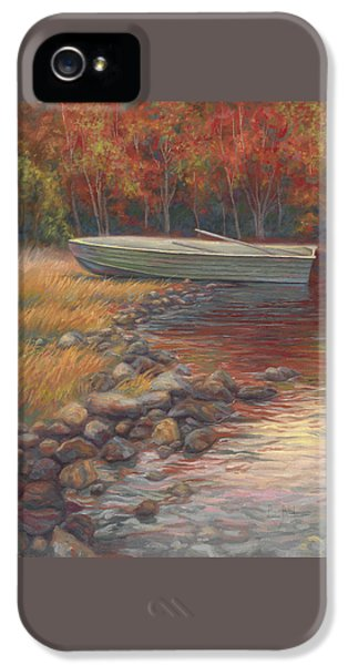 End Of The Day IPhone 5 Case by Lucie Bilodeau