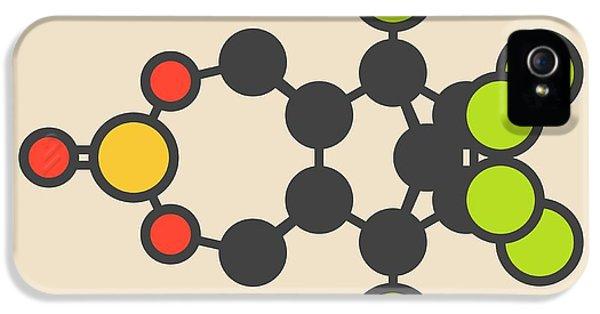 Toxicity iPhone 5 Case - Endosulfan Insecticide Molecule by Molekuul
